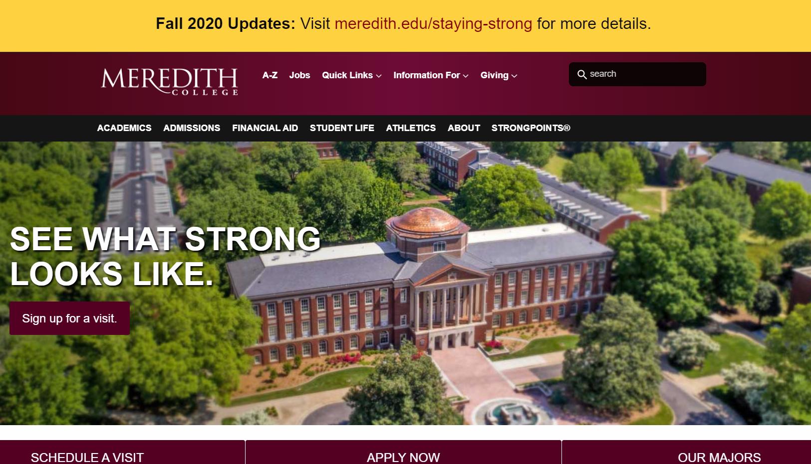 Meredith College is Seeking a Web Developer and Designer ($15k – $48k)