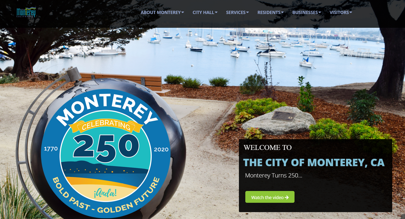 The City of Monterey, California Needs a New Website Solution and Hosting Service ($40k+)