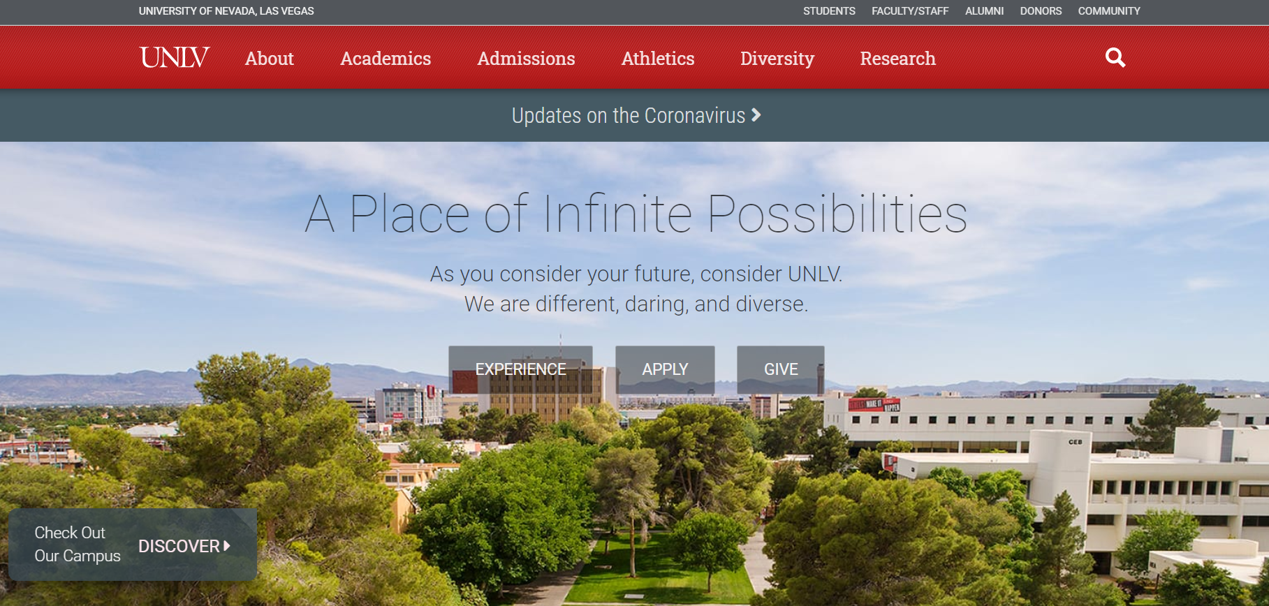 University of Nevada, Las Vegas is looking for a Senior Web Developer, for Web and Digital Strategy ($40k – $80k)