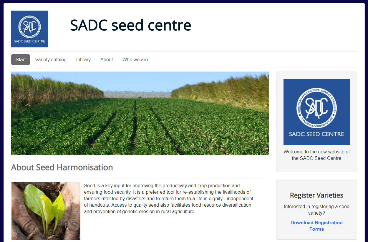 Seed Trade Project Needs a Website Redesign ($8k+)