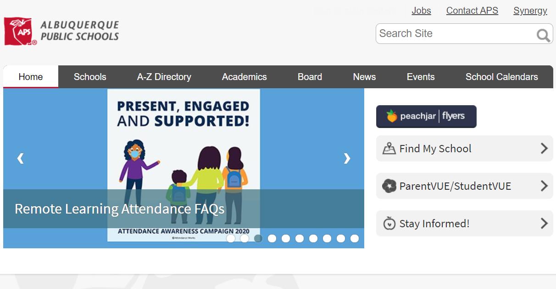 Albuquerque Public Schools District Needs a New Website and CMS (Est. $75k – $400k+)