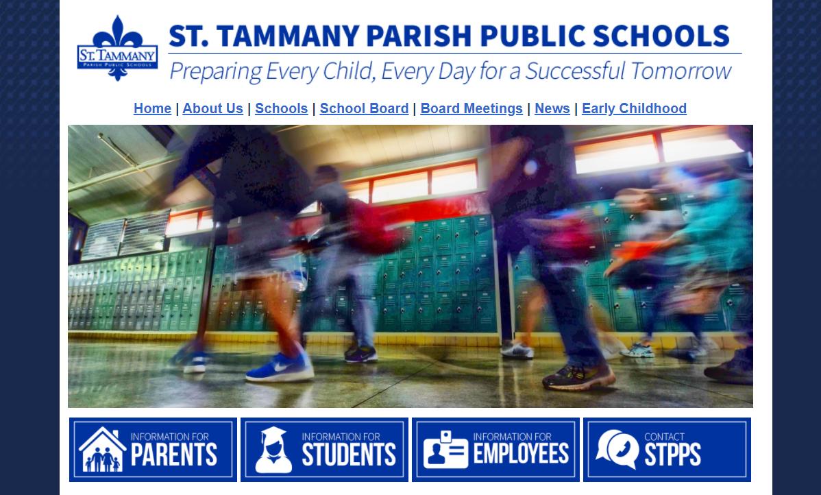 St. Tammany Parish Public School Board Needs New District Website, 56 School Websites and Mobile App (Est. $100k – $300k)